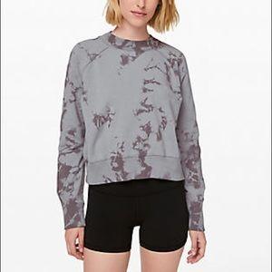 Lululemon It's A Wash Tie Dye Sweatshirt